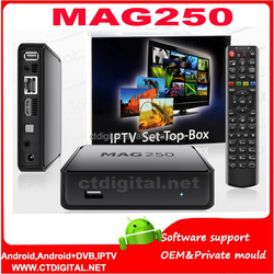 iptv mag250 with hd cable wifi adapter CAt5 optional mag250 iptv UK EU US PLUG mag 250 iptv box mag260 mag 254