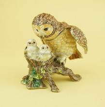 wedding gifts favor box Owl family