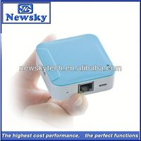 Pocket wifi repeater router box