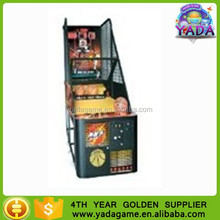 indoor steel basketball shooting machine game for kids game machine for sale