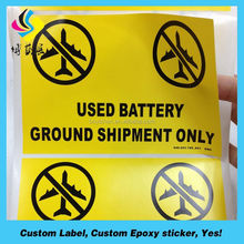 custom sticker for president election activity sticker