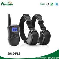 998DRL dog training shock collar advanced bark control collar with remote control