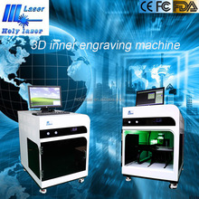High Precision ! Distributors Wanted Best 3d Crystal Laser Inner Engraving Machine