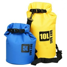 Wholesale custom logo 5L 10L 30l PVC tarpaulin floating boating ocean pack dry bag with valve backpack Waterproof Dry bag