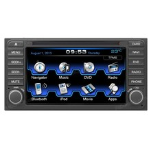Car GPS navigation systems with radio,Bluetooth,CD,DVD,6.2-inch Touchscreen for All old Toyota