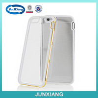 3 in 1 bright electroplate case hard back cover for iphone 6