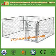 6'H x10'W x 10'D galvanized Chain Link dog Kennel & dog run & dog fence panel