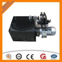 2015 12V hydraulic power units/ hydraulic power pack for sale from Hangzhou,China