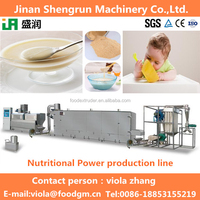 healthy baby food instant nutritional powder production machine from China