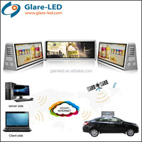 led taxi/car roof displayc advertising screens for cars