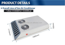 12 volt/ 24 volt Engine driven KT-12 roof mounted air conditioner for minibus, van, minivan cooling system