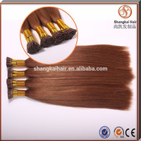 2015 new product brazilian remy human i tip hair