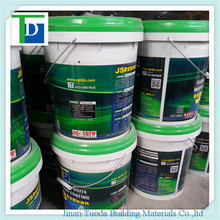 JS flexible waterproof roof coating anti-seepage coating with SGS and ISO certificate