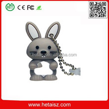 cute animal rabbit shape usb flash drive, rabbit 1 tb usb flash drive, cartoon rabbit usb 8 gb