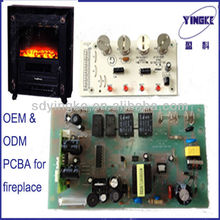 Fireplace pcba assembly manufaturer offering OEM and ODM fireplace pcb control parts