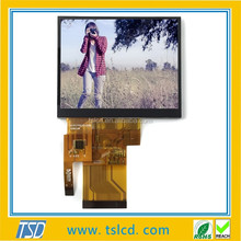 tft lcd 3.5 inch 240x320 CTP touch panle with wide viewing angle