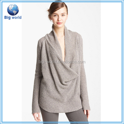 Custom women's knitted sweater, wholesale women's pullover fashion, sweater buying house