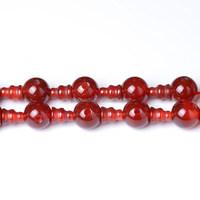 Tee Beadle Carnelian Beads Red Gemstone Tee Beadle Beads