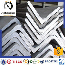 EN 1.4301 standard size cheap stainless 304 steel angle
