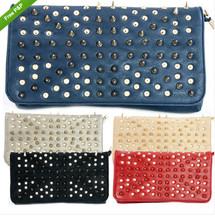 Studded Spikes Envelope Studs Clutch Bag Hot item for Sale