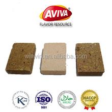 Halal Onion Curry stock cubes Manufacture Vegetable Flavor Bouillon Cubes[AVIVA CUBES]