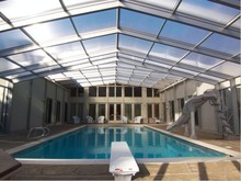 polycarbonate swimming pool cover waterproof solar cover