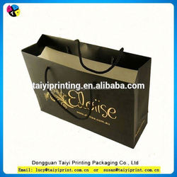 recycle promotional Plain Paper Bags With Handles