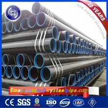 ASTM A120 ERW Welded Steel Piling Pipes, API 5L Water Well 3PE Coating Steel Pipes