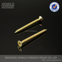 Flat head screw phosphate screw Pozidrive Chipboard Screw