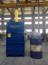 CE Certification Hydraulic Scrap 210 Liter Oil Drum Compactor