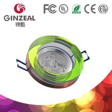 GINZEAL GDY100 Crystal Modern Light, MR16 Crystal Ceiling Light