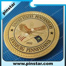 Marine big old gold commemorative coin manufacturer souvenir gold coin wholesale