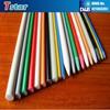 Curtain rod using high strength 9.5mm glassfiber pole/fiberglass curtain pole
