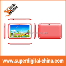 Hot selling 512mb+8gb low cost factory price 7 inch android kids tablet pc