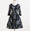 cheap china wholesale clothing plus size summer cotton linen cocktail dress