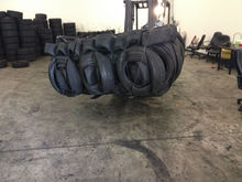 baled scrap tire