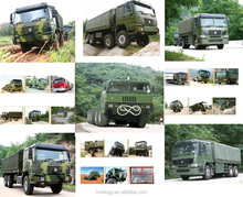 HOWO 4x4 All Wheel Drive Vehicle Cargo Truck/Military Quality