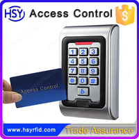 Outdoor or Indoor RFID proximity card access control