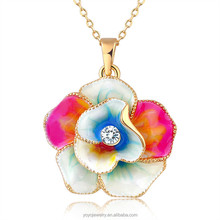 Equisite gold design women meaningful pendant necklace