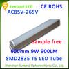 2015 new products CE ROHS cool white 9w 48pcs SMD2835 900lm 2014 hotsale ube8 led light tube 8 china