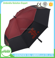30 inches double fabric logo printed chinese umbrellas wholesale novelty umbrellas