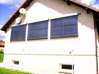 2014 New Design High Quality Heapt Pipe Solar Collector/Aluminium alloy