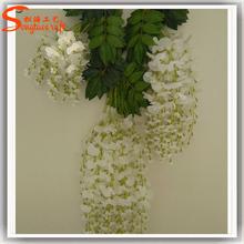 Wedding decoration flower artificial wisteria flower fake plastic wedding flower