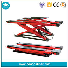 New style new products launch scissor car lift second lift