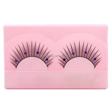 Blink lashes/ diamond false eyelashes/synthetic false eyelashes/natural black false fake eyelashes
