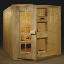 Finland Wood Built Bath Sauna House with DVD (GS-A2520)