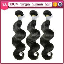 Swan for new products body wave grade 7a virgin hair Brazil 100 human hair