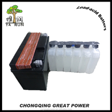 half maintenance free dry charged motorcycle battery