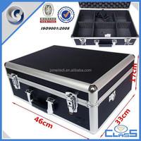 MLDGJ776 Black Porpular Locking Simple Pro Aluminum Equipment Tools Hard Carrying Case Made in China