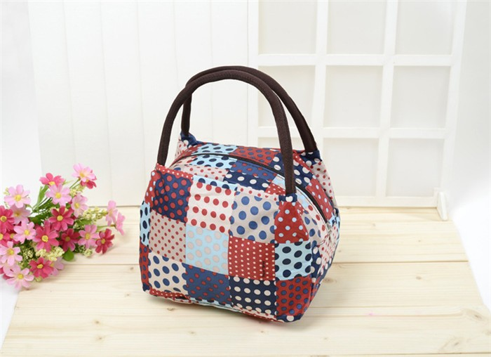 Cute Floral Printed Mini Tote Lunch Canvas Bag Womenu0026#39;s Bag - Buy Womenu0026#39;s BagMini Tote Lunch Bag ...